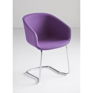 BASKET CHAIR CTL UPHOLSTERED