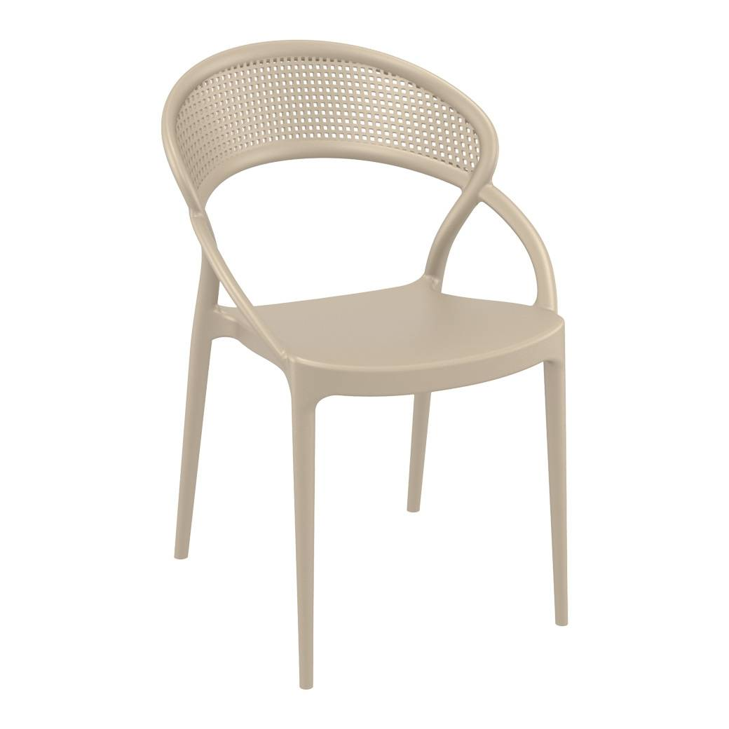 silla SUNSET color taupe