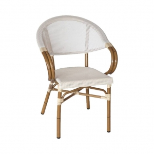 silla CAIRO color crema